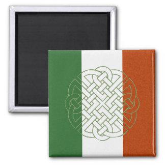 Irish Celtic Knot Square Magnet