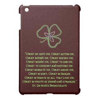 Irish Celtic Shamrock Knot Gaelic iPad Mini Cover