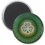 Irish celtic shamrock magnets