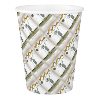 irish centre forward paper cup