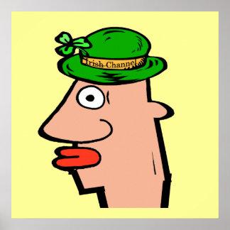 Irish Channel Head Poster