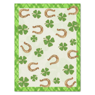 Irish Charm Whimsical THIS SIZE PLEASE Tissue Paper