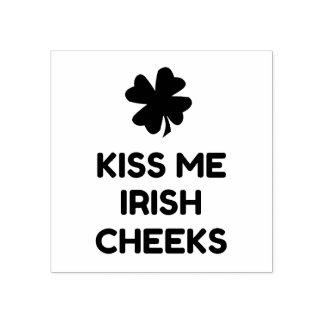 Irish Cheeks Rubber Stamp