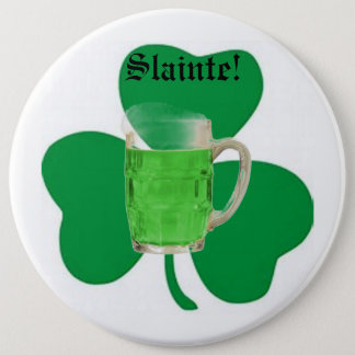 Irish cheers Button