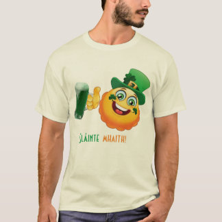 irish cheers Sláinte mhaith st patricks day T-Shirt