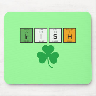 Irish chemcial elements Zc71n Mouse Pad