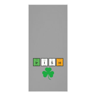 Irish chemcial elements Zc71n Rack Card