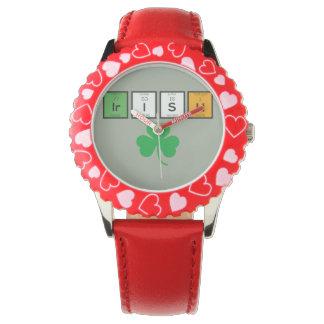Irish chemcial elements Zc71n Watch