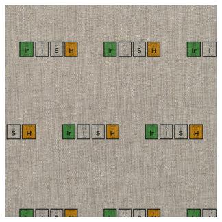 Irish chemcial elements Zy4ra Fabric
