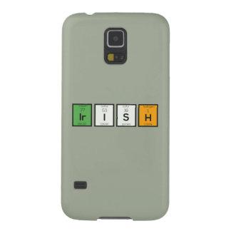 Irish chemcial elements Zy4ra Galaxy S5 Covers
