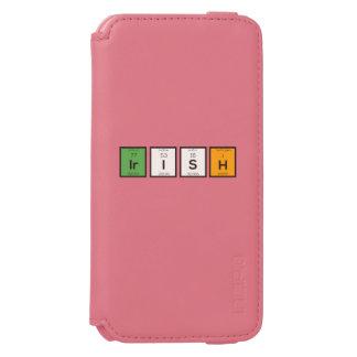 Irish chemcial elements Zy4ra Incipio Watson™ iPhone 6 Wallet Case