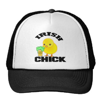 Irish Chick Cap