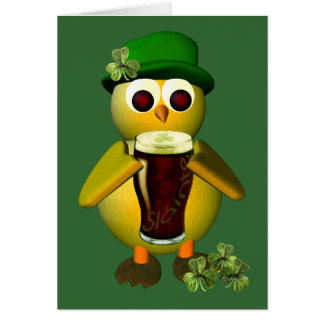 Irish Chick Greeting Card