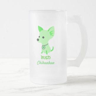 Irish Chihuahua beer mug