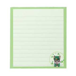 Irish Chihuahua  dog notepad