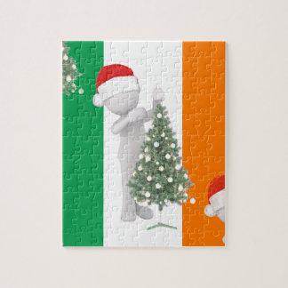 irish christmas jigsaw puzzle