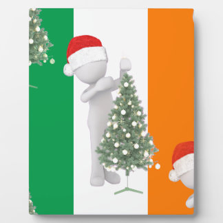 irish christmas plaque