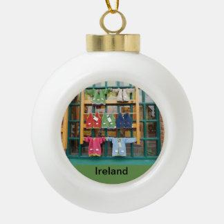 irish christmas tree ornament