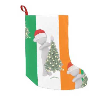 irish christmas xmas stocking