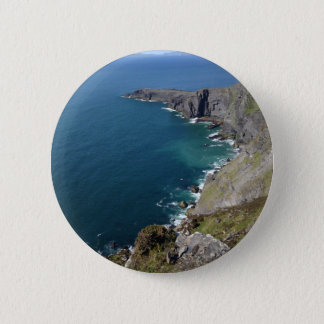 Irish Cliffs In Dingle Ireland By The Ocean 6 Cm Round Badge