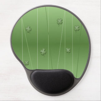 Irish Clover Design Gel Mouse Pad