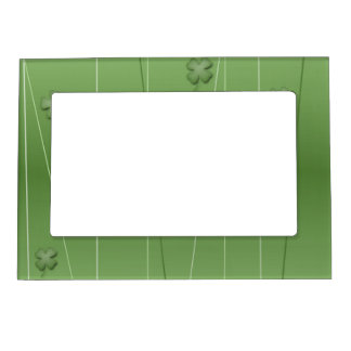 Irish Clover Design Magnetic Picture Frame