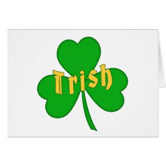 Irish Clover -holiday- Card