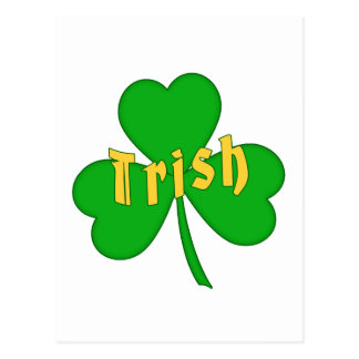 Irish Clover -holiday- Postcard