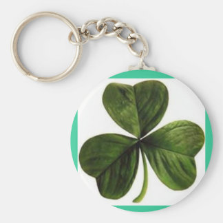 Irish clover key chain