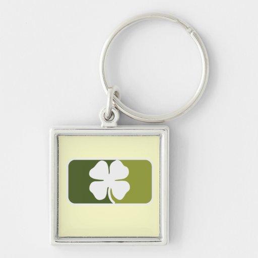 Irish Clover Keychain