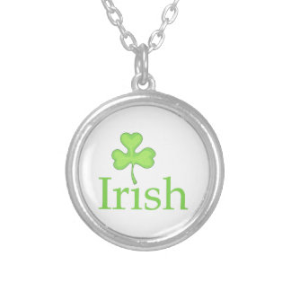IRISH CLOVER PERSONALIZED NECKLACE