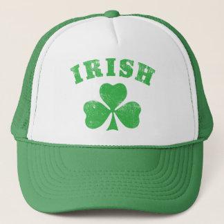 Irish Clover Trucker Trucker Hat