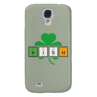 Irish cloverleaf chemical element Zz37b Galaxy S4 Cases