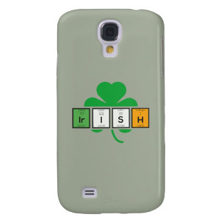 Irish cloverleaf chemical element Zz37b Galaxy S4 Cover