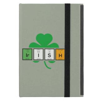Irish cloverleaf chemical element Zz37b iPad Mini Case