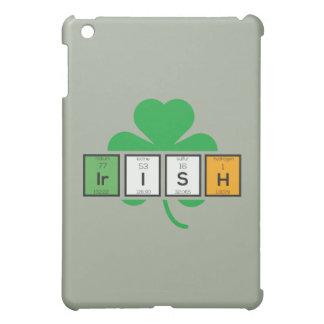 Irish cloverleaf chemical element Zz37b iPad Mini Cases