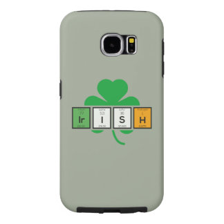 Irish cloverleaf chemical element Zz37b Samsung Galaxy S6 Cases
