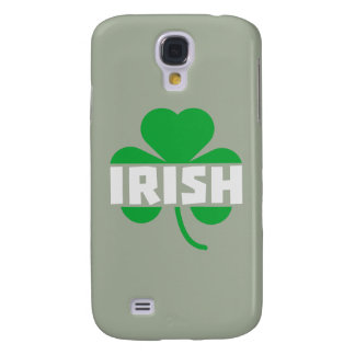 Irish cloverleaf shamrock Z2n9r Galaxy S4 Case