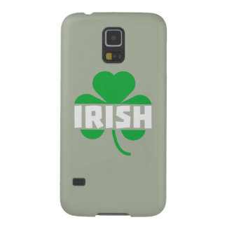 Irish cloverleaf shamrock Z2n9r Galaxy S5 Cases
