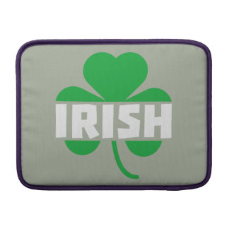 Irish cloverleaf shamrock Z2n9r MacBook Air Sleeves