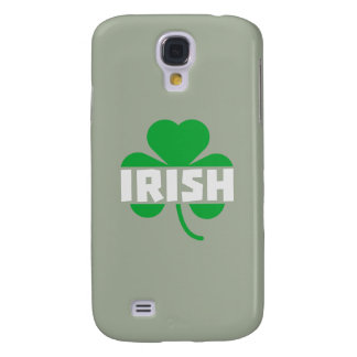 Irish cloverleaf shamrock Z2n9r Samsung Galaxy S4 Covers