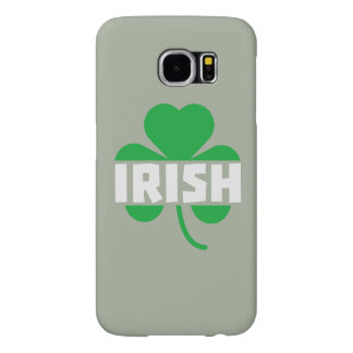 Irish cloverleaf shamrock Z2n9r Samsung Galaxy S6 Cases