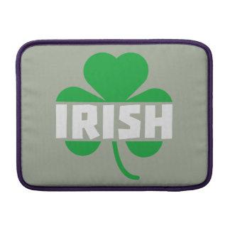 Irish cloverleaf shamrock Z2n9r Sleeve For MacBook Air