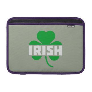 Irish cloverleaf shamrock Z2n9r Sleeves For MacBook Air