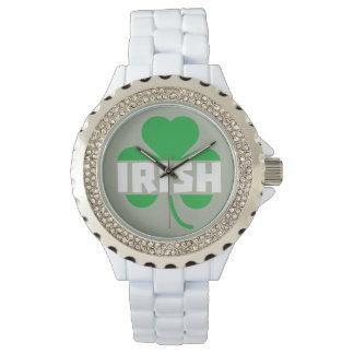 Irish cloverleaf shamrock Z2n9r Watch