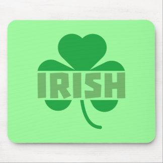 Irish cloverleaf shamrock Z9t2d Mouse Pad