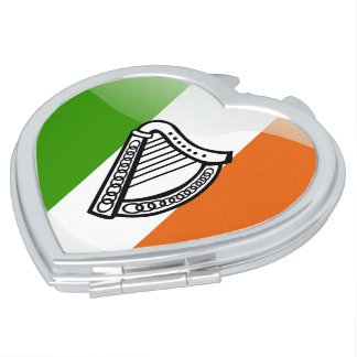 Irish Coat of arms Makeup Mirror