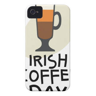 Irish Coffee Day - Appreciation Day iPhone 4 Case-Mate Cases