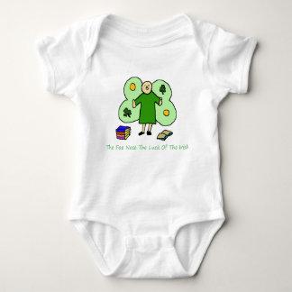 Irish Confuzzled Fae Baby Jersey Bodysuit
