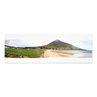 Irish Costal Mountain Town Photo Print